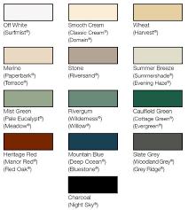 Stratco Colour Chart Design Flow Australian Manufacturer Of Matrix Plastic Lattice