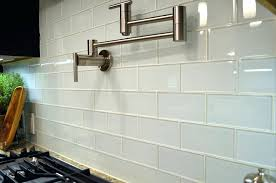large format glass tile backsplash the multiple uses for white subway behind stove tiles