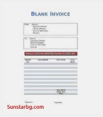 Free Printable Blank Invoice Template Enchanting Invoice Blank Form Free Printable For Invoice Template Beautiful