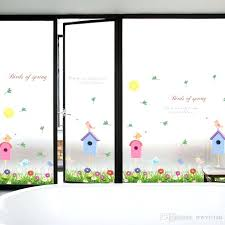 spring wall decor fence birdcage flowers birds wall decals for kids room nursery birds of spring