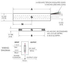 10 vdc output lvdt position sensor dc 750 series 10 vdc output lvdt position sensor dc 750 series