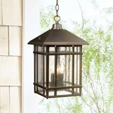 hang outdoor pendant lighting