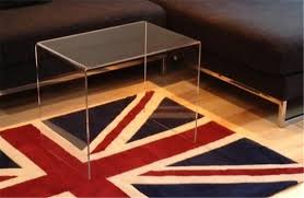 perspex acrylic coffee table clear