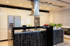 glossy kitchen cabinets new china modern grey wooden pp l shaped modular inside 7