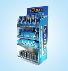 Retail Product Display Stands Customized 100 tiers floor cardboard product display stands Floor 6