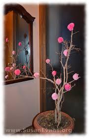 Paper Flower Branches Tree Archives Susans Homeschool Blog Susans Homeschool Blog