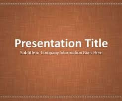 Free Leather Templates Free Leather Powerpoint Templates