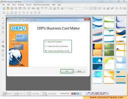 Screenshots Of Drpu Business Card Maker Software To Make Business Card