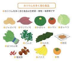 カリウム の 多い 食品