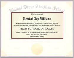 Diploma Wording