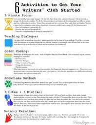 Writing Starters Worksheet Sample   A M  Breakthrough  Unconventional Writing Exercises That Transform Your Fiction