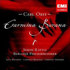 <b>Orff</b>: Carmina Burana by <b>Simon Rattle</b> | 724355788825 | CD ...