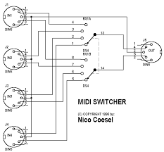 simple midi switch i would like to build the switch pictured below found it online do you think it is a good project any recommendations