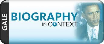 Biography In Context logo