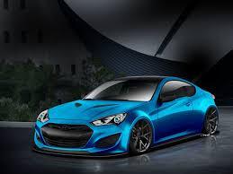 Blue Hyundai Genesis Coupe Will Make Waves At SEMA