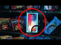 Iphone Vending Machine Inspiration IPhone X For 4848 At VENDING MACHINE JOYSTICK YouTube