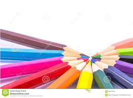 Pencil Color Stock Image Image Of Colors White Rainbow