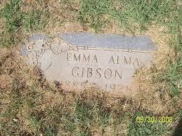 Emma Alma Hancock Gibson (1885-1928) - Find A Grave Memorial