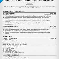 Certified Home Health Aide Resume Sample Downloads Full 1236X1600  pertaining to Job Description For Home Health