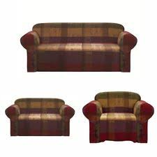 chezmoi collection heavy duty jacquard sofa loveseat or chair cover slipcover