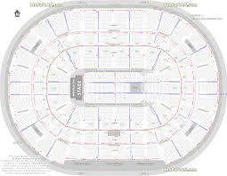 detailed seat row numbers end se full concert sections floor plan with arena lower club upper bowl layout chicago united center seating chart