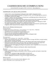 Qualifications Summary Resume Example Free Resume Template