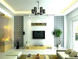 green feature wallpaper 201654 feature wall for living room