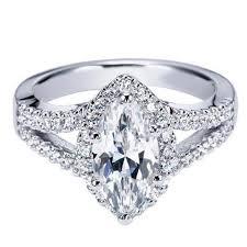 ben garelick royal celebration marquise diamond halo engagement ring