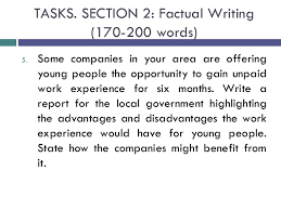 essay example factual essay example