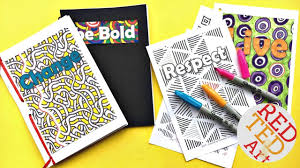 Design A Journal How To Make A Journal Mindful Journals For Kids Red Ted Art