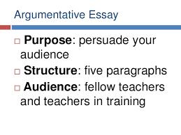 argumentative essays argumentative essay