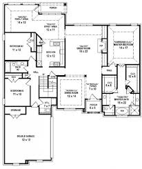 bedroom house plans with double garage south africa savaeorg six split