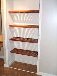 linen closet shelving wooden shelves for closets google search linen closet shelving canada