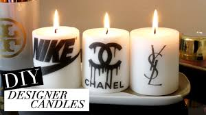 diy designer candles  tumblr inspired  youtube