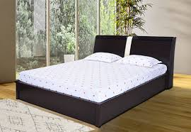 Royaloak Monarch King Size Bed With Hydraulic Storage And Melamine Finish