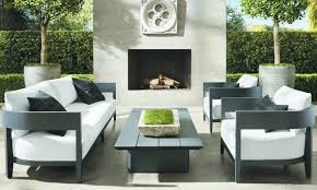 the modern minimalist lines of restoration hardware s balmain collection including sofa lounge chair