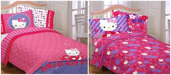 B Hello Kitty Sheets Full Solid Graphikworks Co Avec Bed Set Blue  Et Bedroom 29 2000x880px