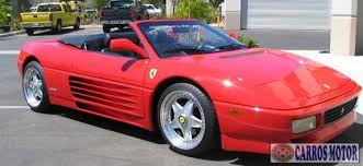 Late versions (1993 and beyond) have japanese starter motors and nippondenso power generators to improve reliability, as well as the battery located within the front left fender for better weight distribution. Tabela Fipe Ferrari 348 Spider 3 4 1993 Preco