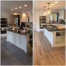 hardwood floors kitchen. We Are Making Major Progress In Our Kitchen! As I Mentioned My Last Post, Installing Hardwood Floors The #grazianobungalow Kitchen Was Most R