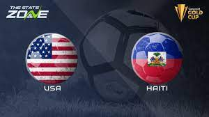 2021 CONCACAF Gold Cup United States vs ...