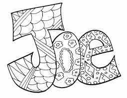 The names of the colors on this page are not fictitious. Joe Free Coloring Page Stevie Doodles Name Coloring Pages Free Coloring Pages Coloring Pages