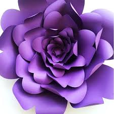 Flair Template How To Add Flair Your Wedding Or Party With Paper Flowers Purple Diy