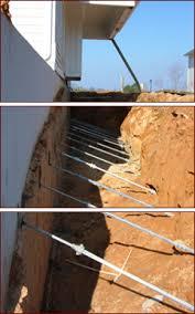 foundation repair and bowed basement