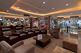 Comfort and Style Man Cave