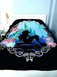 le mermaid comforter set twin bedding the full size little of duvet beautiful toddler mermaid comforter little crib set