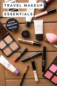 genius makeup tips for travelers what s in my travel makeup bag beauty and style