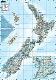 Sea Charts Nz New Zealand Wall Maps
