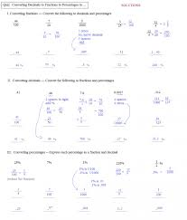 Percentage Word Problems Fractions To Percentages Worksheet With ...