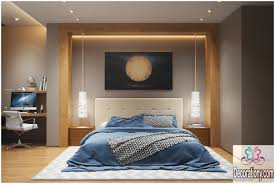 Modern Bedroom Ceiling Lights Bedroom Shady White Lighting Large Curvy Pendant Lamp Best