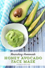 honey avocado face mask